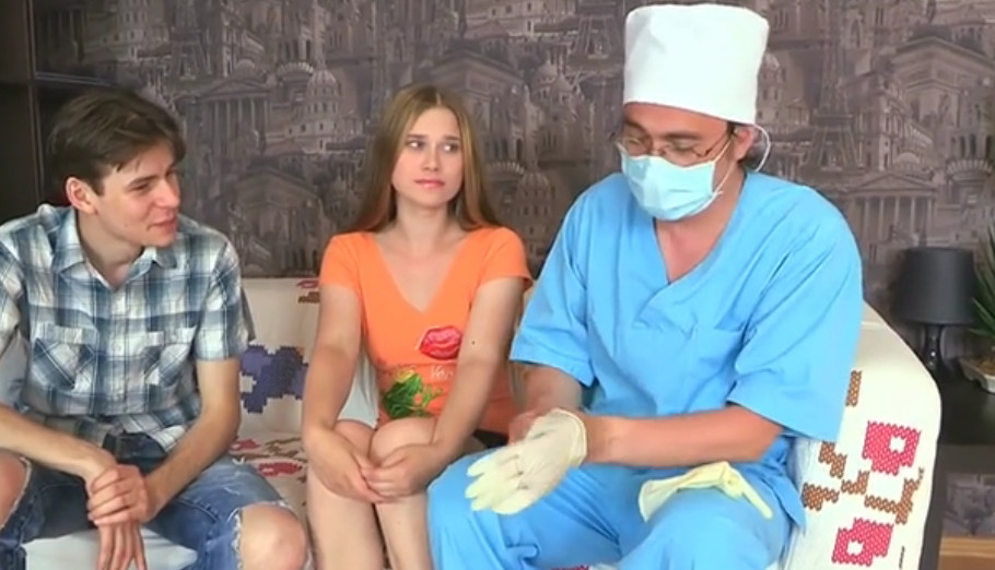 Секс с доктором онлайн видео